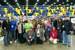 Group photo of FCFI volunteers at FFA Convention