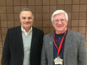 """This Week in Agribusiness host and author of """"Stories From the Heartland"""" Max Armstrong with Dennis Schlagel"""
